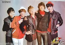 "SHINEE ""GROUP WEARING COATS"" ASIAN POSTER - Korean Boy Band, K-Pop Music"