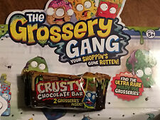 The Grossery Gang CRUSTY CHOCOLATE BAR 2 pack-made by shopkins -moose toys