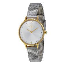 Skagen Anita Silver Dial Stainless Steel Mesh Bracelet Ladies Watch SKW2340