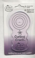 Quilled Creations CURLING COACH Quilling Tool For Making Perfect 3D+Solid Rolls