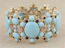 New Banana Republic Stone Stretch Bracelet Blue