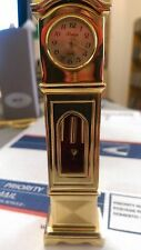 collectable miniature ronica grandfather clock
