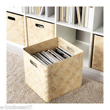 IKEA BULLIG Storage Box Basket for Toys Magazines Clothes fits Expedit Shelving