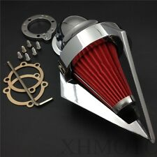 Spike Air Cleaner Filter Kits For Harley S&S Custom Cv Evo Xl Sportster Chrome
