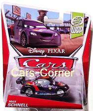 Disney Pixar Cars 2 Max Schnell der deutsche Champion - Mattel 2012 - NEU & OVP