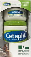 Cetaphil Moisturizing Cream For Dry Sensitive Skin 20oz + 8.8 oz