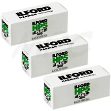 3 Rolls Ilford HP5 Plus 120 Black and White Negative Print Film ISO400 NEW 2019