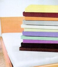 Fitted Sheets Polycotton Single Size Pack of 10 Different Colours Cheap Bedding