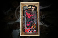 THE WALKING DEAD Negan Figure  SIGNED BY KIRKMAN, MCFARLANE & J. DEAN MORGAN!!!