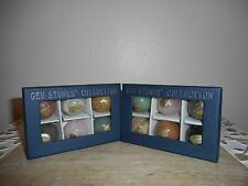Gemstone COLLECTION  Sphere/Ball 12 Crystal Box Set 30MM Size