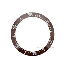 New High Quality Brown Ceramic Bezel Insert made for Rolex Deepsea