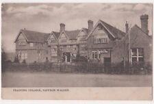 Training College Saffron Walden Essex 1904 Nesbitt Postcard, B694