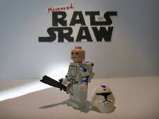 Lego Star Wars minifigures - Clone Custom Troopers - 501st Snow Assault Trooper