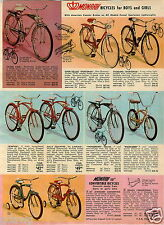 1965 PAPER AD Bike Bicycle Monarch Columbia Tandem Firebolt Silver King Special