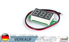 MINI Digital Voltmeter VERDE 3x1,4cm 2,6-30v per Arduino prototipi Raspberry Pi