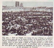 1948  --  LE FOLGOET  JOUR DE FOIRE  D180