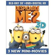 Despicable Me 2 (Blu-ray/DVD, 2013, 3-Disc Set, Includes Digital Copy; Ultraviol