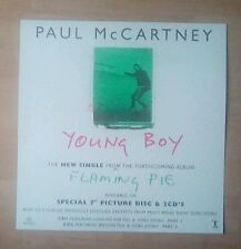 "PAUL McCARTNEY  -Promotional 12"" x 12"" (PaperFlat) YOUNG BOY(ideal for framing)"