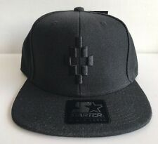 "MARCELO BURLON  COUNTY OF MILAN X STARTER ""STAFF"" Cruz black/black twill cap"