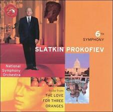 Prokofiev: Symphony No. 6 / Love for Three Oranges suite / Overture o Ex-library
