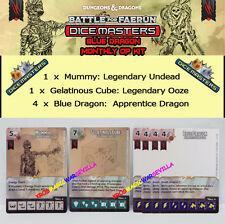 DUNGEONS DRAGONS DICE MASTERS OP KIT 2016 BATTLE FOR FAERUM BLUE DRAGON - Mummy