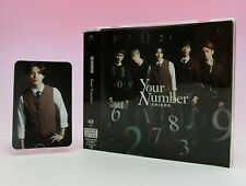 SHINee CD+DVD+Photo Card Japan Limited Edition Your Number Taemin