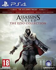 Assassins Creed The Ezio Collection for PlayStation PS4 Trilogy & DLC BRAND NEW