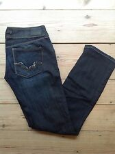 Gsus Ladies Jeans Size30/32(31W X 31L) Aged Effect, WORN TWICE.