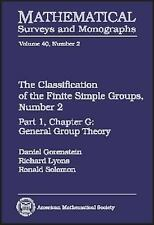 The Classification of the Finite Simple Groups, Number 2 (Mathematical-ExLibrary