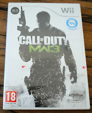 Jeu CALL OF DUTY MW3 pour Nintendo Wii PAL NEUF SOUS BLISTER !