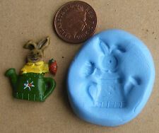 Reusable Rabbit Silicone Food Safe Mould, Mold Sugarcraft, Jewellery, Cake SAFBC