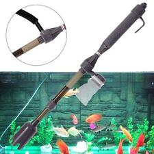 New Aquarium Battery Syphon Auto Fish Tank Vacuum Gravel Water Filter Cleaner FT