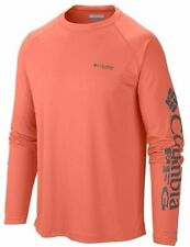 "New Mens Columbia PFG ""Terminal Tackle"" Omni-Shade/Wick T-Shirt Top Tee Polo M"