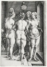 Albrecht Durer: The Four Witches - Fine Art Print