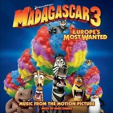 MADAGASCAR 3: Europe's Most Wanted Soundtrack by
