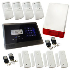 Wireless Burglar Alarm GSM Touch Screen Intruder House Sentry Pro Solution 3