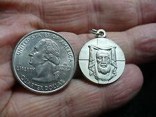 NEW OLD STOCK HOLY FACE OF JESUS CIRCULAR MEDAL