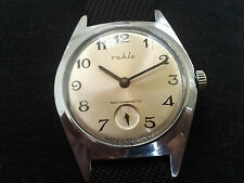 Rare Vintage RUHLA UMF 24 Antimagnetic Mechanical Men's German Wrist Watch