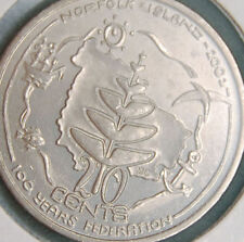 2001 Federation 20c Coin ( NORFOLK ISLAND ) UNCIRCULATED MINT CONDITION ROLL