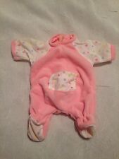 RUSS BERRIE TROLL CRAWLING BABY GIRL DOLL OUTFIT ONESIE   CLOTHING