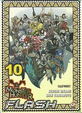 MANGA - Monster Hunter Flash N° 10 - GP Manga - NUOVO