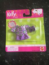 Barbie Kelly Tommy Ryan Friends Doll Clothes Set  Skirt Shirt  Purple  Shoes
