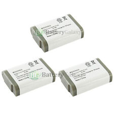 3 x NEW Phone Battery for Panasonic HHR-P103 HHR-P103A