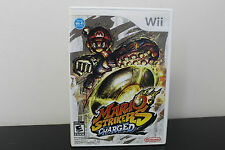 Mario Strikers Charged  (Nintendo Wii, 2007) *Tested / Complete