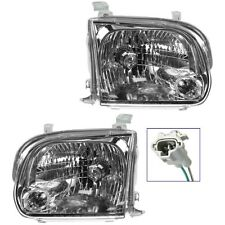 2005 - 2007 TOYOTA SEQUOIA HEADLIGHTS HEADLAMPS LIGHTS LAMPS PAIR