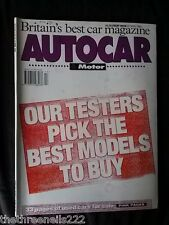 AUTOCAR - THE BEST MODELS TO BUY - APRIL 27 1994