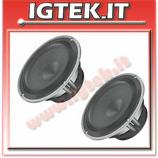 AUDISON COPPIA WOOFER AV6.5 16cm + SUPPORTI X VOLKSWAGEN NEW BEETLE '99 .
