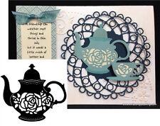 Teapot Thin Metal Die by Serendipity Stamps dies 020GD