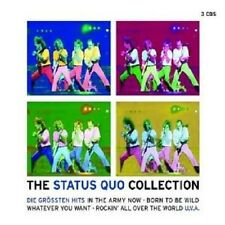 "STATUS QUO ""THE STATUS QUO COLLECTION"" 3 CD NEU"