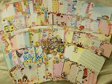 Kawaii Crux San-X Q-Lia Large Memo, Mini Memo, Sticker Flakes 150pcs